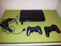 PS3 super slim 500GB + FREE PS2