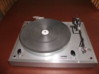 Thorens TD166 MK2 Deck - complete with cover and cartridges. Excellent condition.