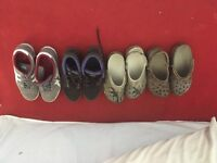 Men's shoes/trainers/summer crocks