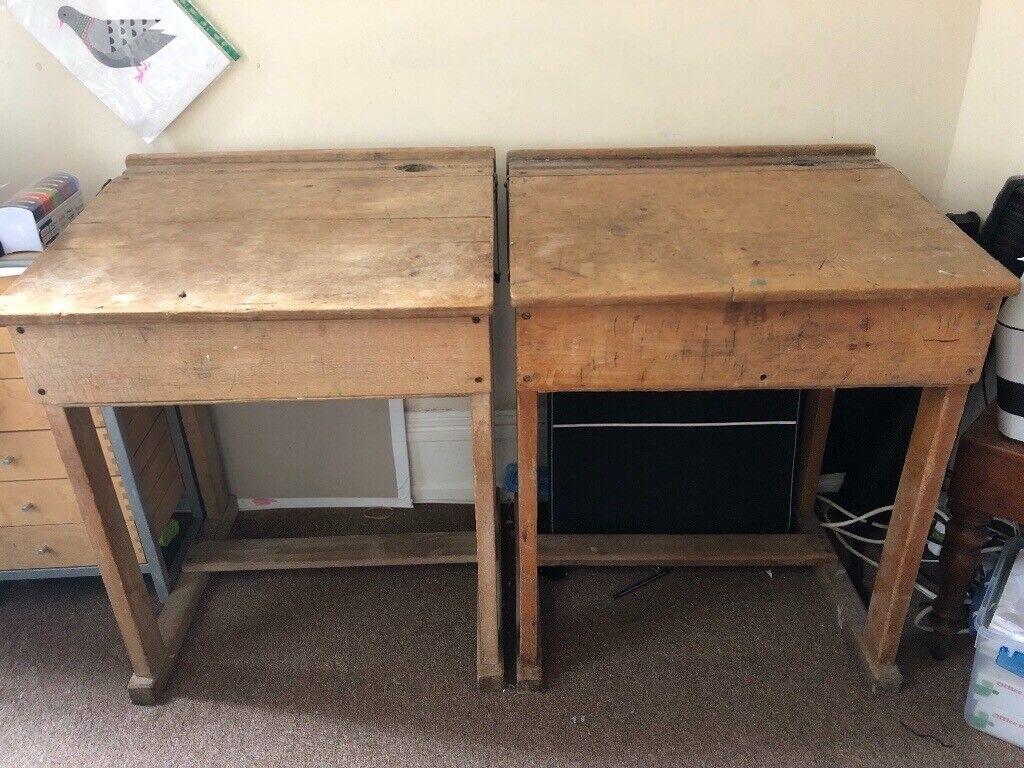 2 Vintage School Desks In Leytonstone London Gumtree