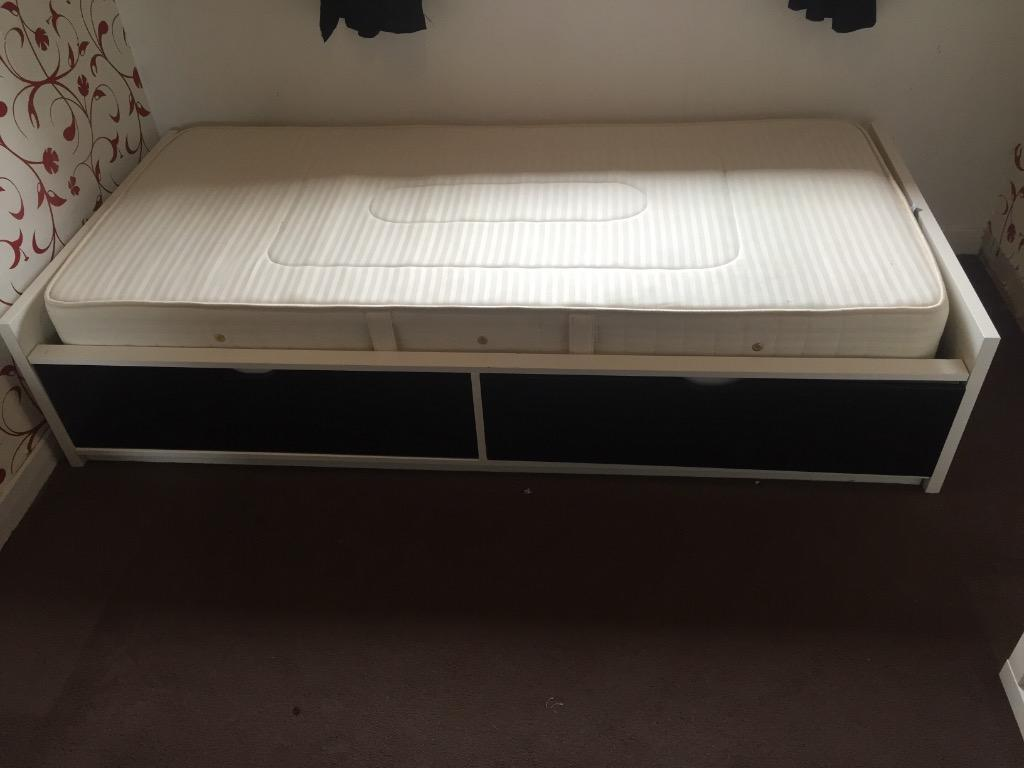 Ikea Leksvik Kinderbett Nachfolger ~ IKEA FLAXA single bed and mattress  IKEA FLAXA bed for sale with very