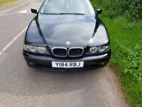 """BMW 520i 18"""" Alloys Zenon lights"""