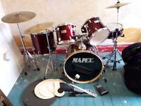 Mapex V drum kit good condition great sound!