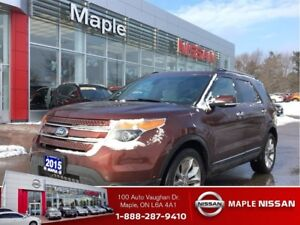 2015 Ford Explorer |Limited|Leather|DuoRoof|DVD|NAVI|AWD|+++|