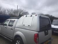 Nissan navara canopy / truckman top