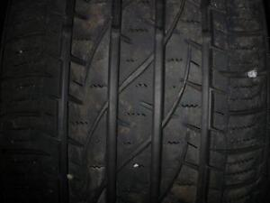 4 pneus d'été Firestone Destination LE2, 245/55/19, 60% d'usure, mesure 5/5/5/6/32.
