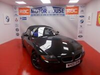 BMW Z4 SE ROADSTER(FULL RED LEATHER)FREE MOT'S AS LONG AS YOU OWN THE CAR!! (black) 2005