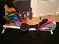 Digital rowing machine