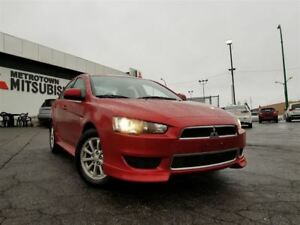 2012 Mitsubishi Lancer SE; CERTIFIED PRE-OWNED!