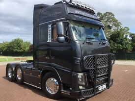 VOLVO FH16 580 6X2 GLOBETROTTER. STUNNING POSS PX SWAP WHY