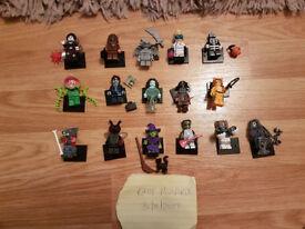Complete set of series 14 Lego minifigures