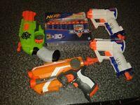 X4 nerf gun/guns with ammo/bullits