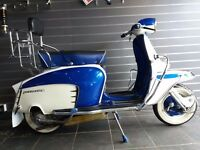 Genuine Italian Lambretta Li125 - TV175 Styled - 185 cc Finance Available Part Exchange Welcome