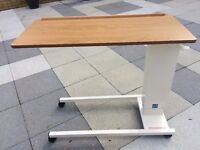 Easi-Riser Adjustable Over Bed & Over Chair Table on Castors