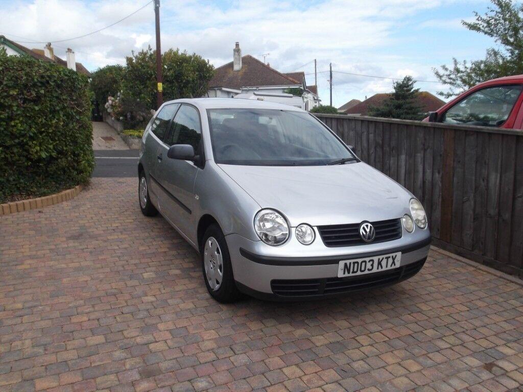 VW Polo 12 E Petrol 3 Door Silver 2003 In Dawlish Devon Gumtree