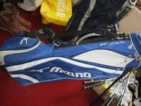 mizuno mint areo lite carry stand bag