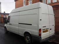 SAME DAY REMOVAL MAN & VAN HIRE HOUSE MOVES DELIVERYS DISPOSALS FRM £26 ALSO HALF & FULL DAY RATES