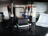 Salamander pearl 50 twin shower pump