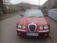 S Type Jag for sale Spares or Repair