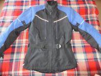 Hein Gericke Motorcycle Motorbike Textile Jacket. Size XL. Good condition