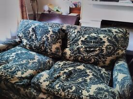 Pair of matching sofas.