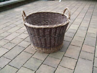 Large wicker basket in excellent condition