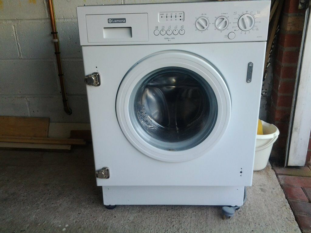 Lamona Integrated washing machine 6 kg 1200 spin in  : 86 from www.gumtree.com size 1024 x 768 jpeg 98kB