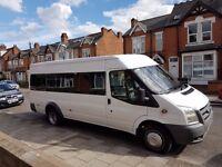 Minibus hire 16 seater