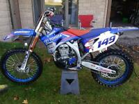 2008/yzf 450 mint bike with many parts.