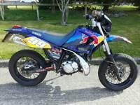 Yamaha dt125r sm dtr supermoto 2006 12 months mot 7760 miles cr yz wr rm dtx dtr 125x