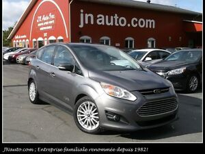 2013 Ford CMax  SEL Energi Hybride, Branchable, GPS, Intérieur e