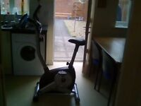 "Rodger black exercise bike can""t get screen to work"