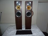B&W (Bowers & Wilkins) CM7 Floor Standing Speakers - Perfect Working Order & Stunning Sound Quality