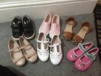 Bundle of girls size 11 shoes