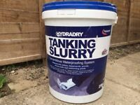 Hydradry tanking slurry - partially used 25Kg tub
