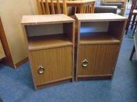 2 small bedside cabinets.