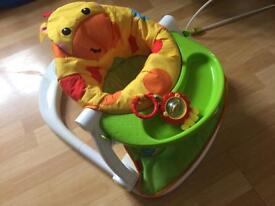 Fisher Price Giraffe sit-me-up Feeding Booster seat