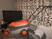 Large roller lawnmower 400