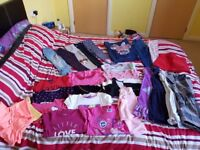 bundle of girls clothes 4-5There is 27 different pieces. All in great condition25.00 open to offers