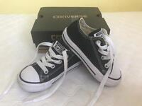 Converse all stars nearly new with box
