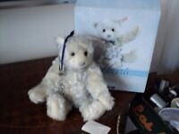 steiff flurrie bear in excellent condition as not played with