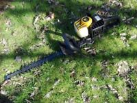 Serviced Petrol Hedge Trimmer McCulloch Tivoli 60 Double-blades