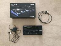 Boss gt 1 guitar effects processor with psa adapter&usb