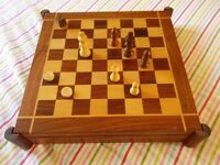 For sale wooden games compendium