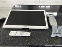 White led Samsung tv , 21 inch