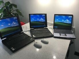Job Lot 3 x Laptops/2 Toshiba Satellite Pro's SP6070 Laptops & RM XTP2D Laptop