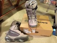7.5uk women's snowboarding boots (fit uk6)