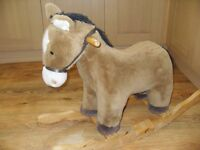 Rocking horse - great for toddler - good condition - from smoke free and pet free home