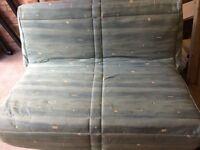 Slumberland Metal Sofa Bed.