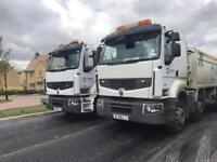 HGV CLASS 2 tipper truck driver